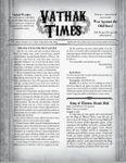 RPG Item: Vathak Times Issue 1