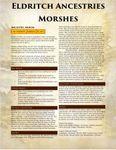 RPG Item: Eldritch Ancestries: Morshes