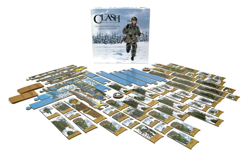 Board Game: Clash of the Ardennes