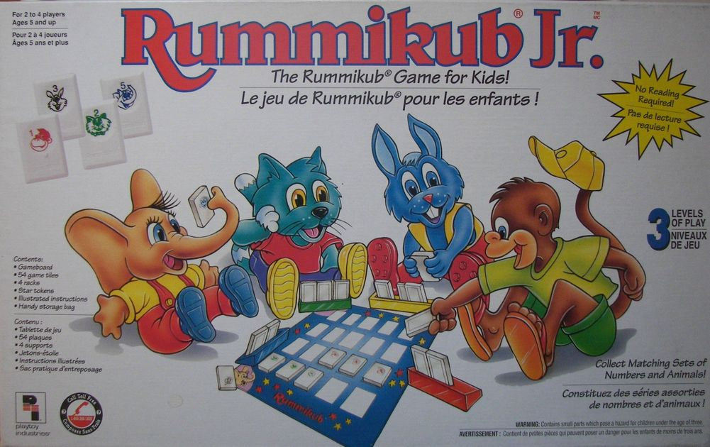 My First Rummikub Board Game Boardgamegeek