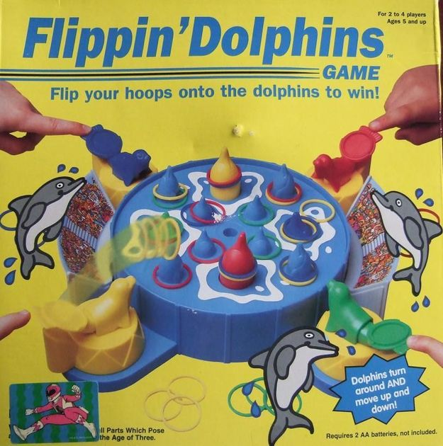 Flippin' Dolphins   Board Game   BoardGameGeek