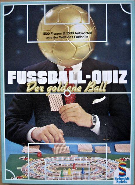 Fussball Quiz Der Goldene Ball Board Game Boardgamegeek