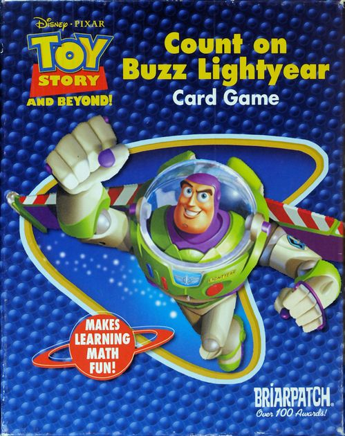 Count on Buzz Lightyear Card Game | Board Game | BoardGameGeek