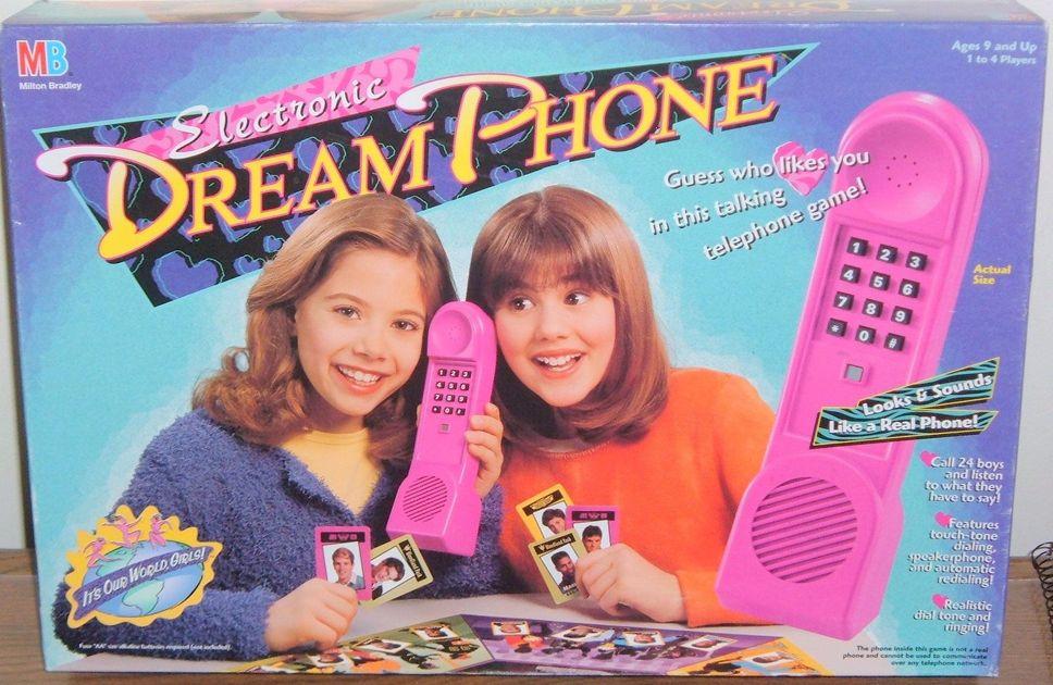 Electronic Dream Phone Board Game Boardgamegeek