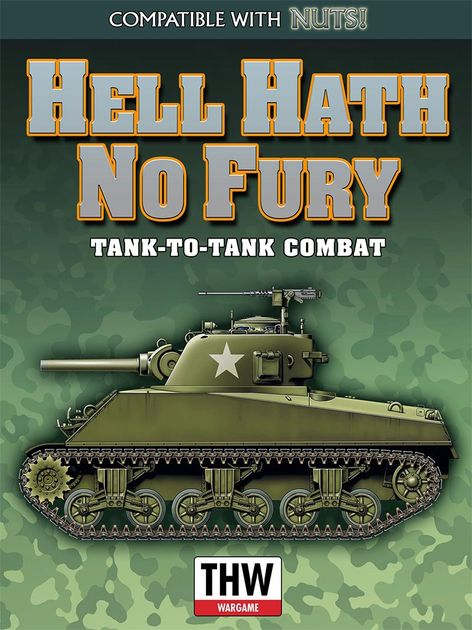 Hell Hath No Fury: Tank on Tank Combat | Board Game