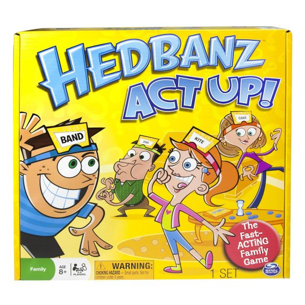 Hedbanz Act Up Board Game Boardgamegeek