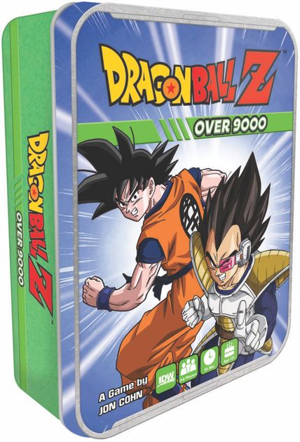 Dragon Ball Z Over 9000 Board Game Boardgamegeek