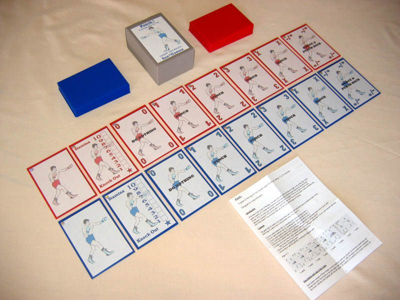 Punch Boxing Game Pdf Punch Boardgamegeek