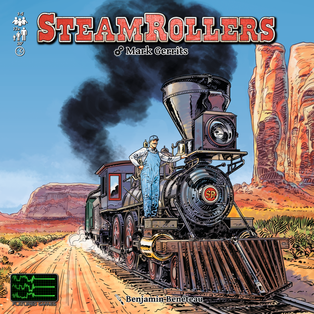Image result for steamrollers board game
