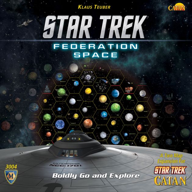 Star Trek: Catan – Federation Space Map Set | Board Game