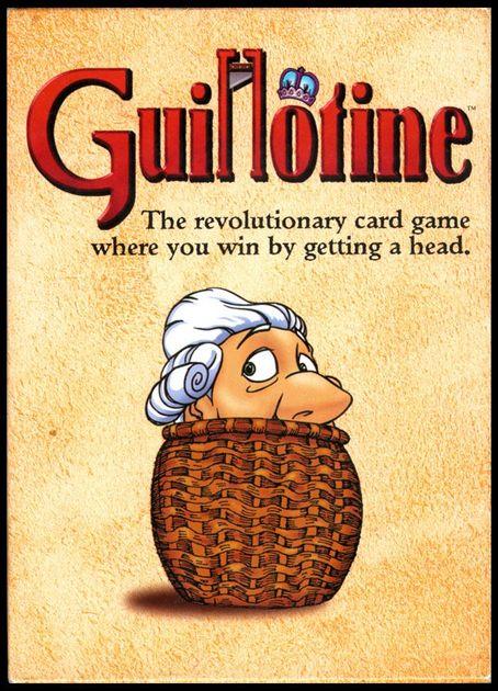 guillotine board game boardgamegeek