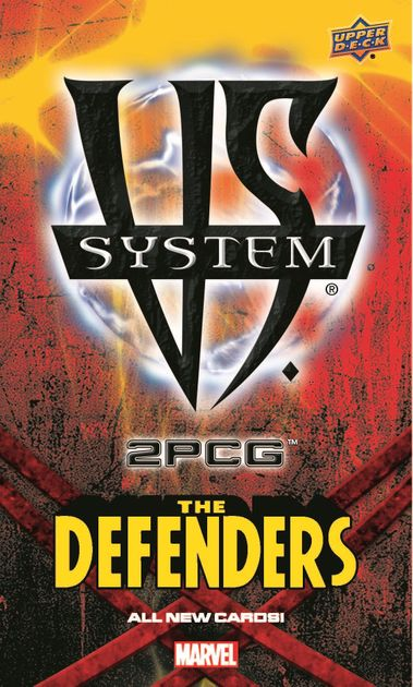Upper Deck Marvel VS System The Defenders 2 PCG NEW