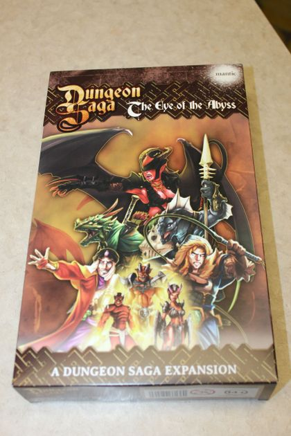 Dungeon Saga: The Eye of the Abyss | Board Game | BoardGameGeek