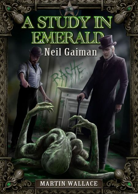 Image result for a study in emerald first edition