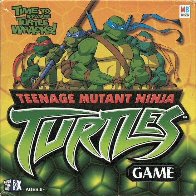 Teenage Mutant Ninja Turtles Game Board Game Boardgamegeek