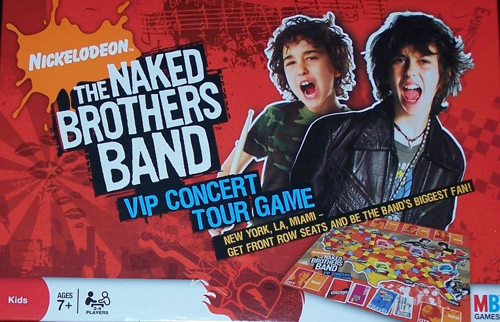 The Naked Brothers Band VIP Concert Tour Game | Board Game | BoardGameGeek