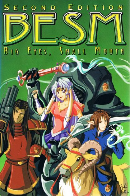 BESM Fourth Edition (Big Eyes, Small Mouth RPG) - Dragons