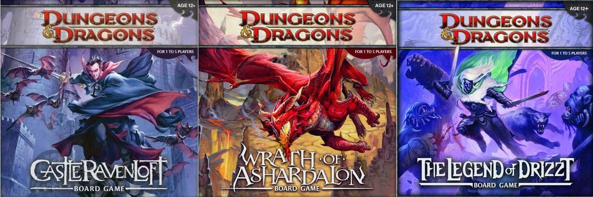 Figure List Dungeons And Dragons Adventure System Board Games
