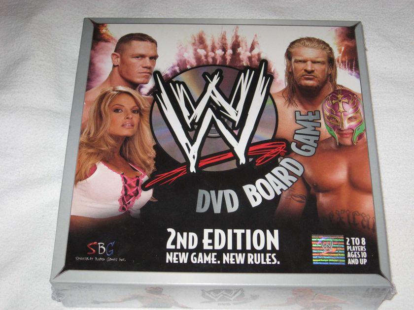 Wwe Dvd Board Game 2nd Edition Board Game Boardgamegeek
