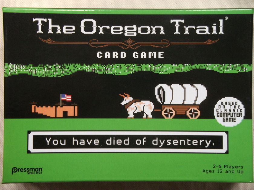 The Oregon Trail Card Game | Board Game | BoardGameGeek