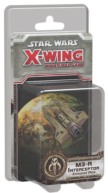 Star Wars: X-Wing Miniatures Game – M3-A Interceptor Expansion Pack   Board Game   BoardGameGeek