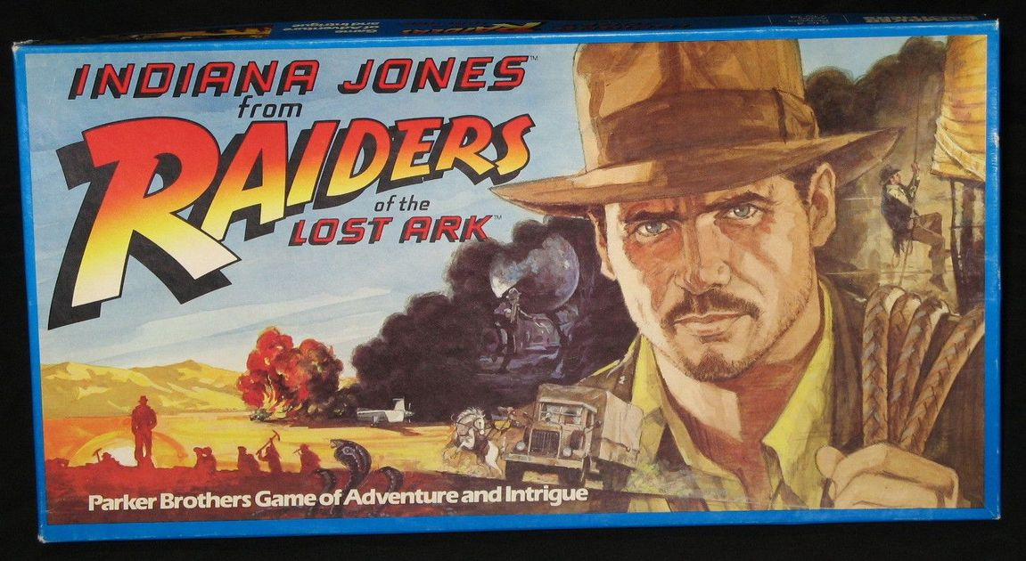 2c96f55f8db Indiana Jones from Raiders of the Lost Ark   Board Game   BoardGameGeek