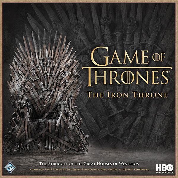game of thrones the iron throne board game boardgamegeek. Black Bedroom Furniture Sets. Home Design Ideas