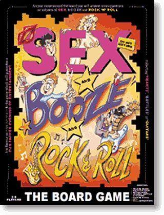 Rock And Roll Games >> Sex Booze Rock N Roll Board Game Boardgamegeek