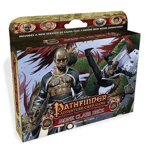 Pathfinder Adventure Card Game Class Deck Monk Board Game