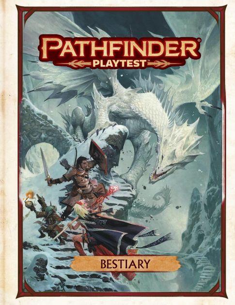 Pathfinder Playtest: Bestiary   RPG Item   BoardGameGeek
