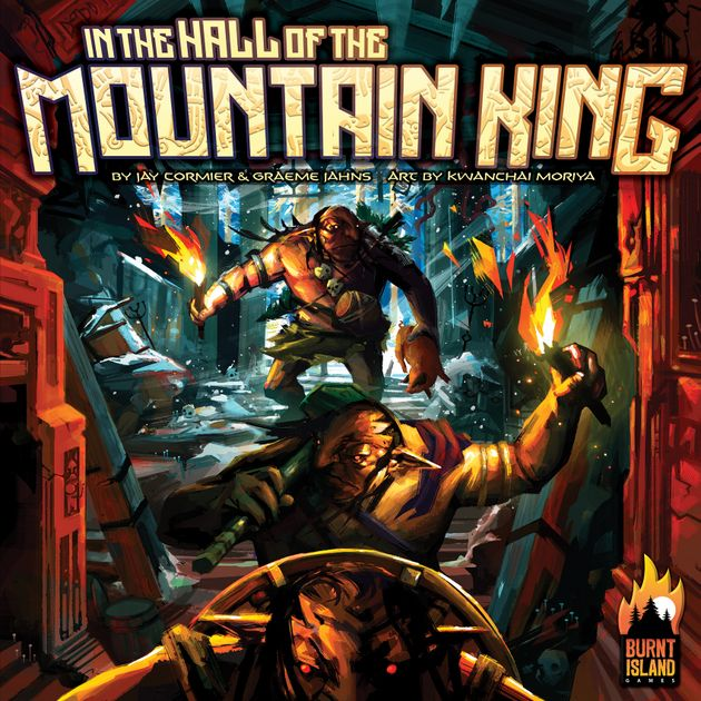 OVP IN THE HALL OF THE MOUNTAIN KING CURSED MOUNTAIN EXPANSION Spiel