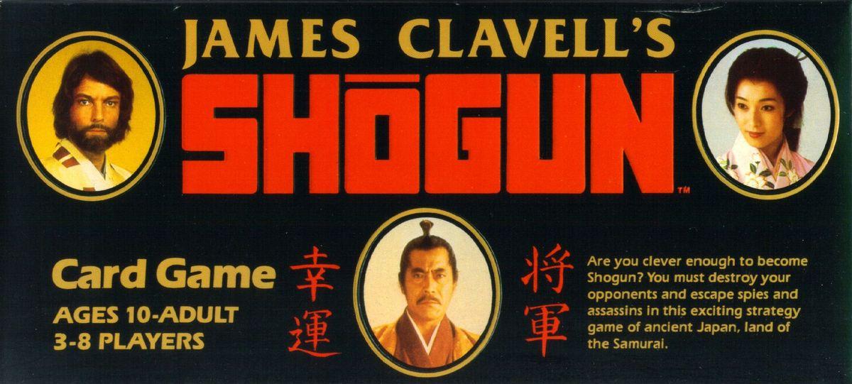 James Clavell S Shogun Card Game Board Game Boardgamegeek