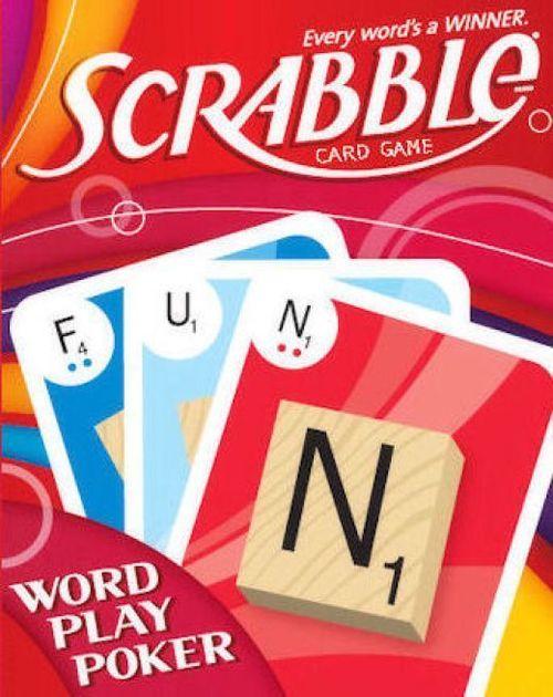 Scrabble Word Play Poker | Board Game | BoardGameGeek