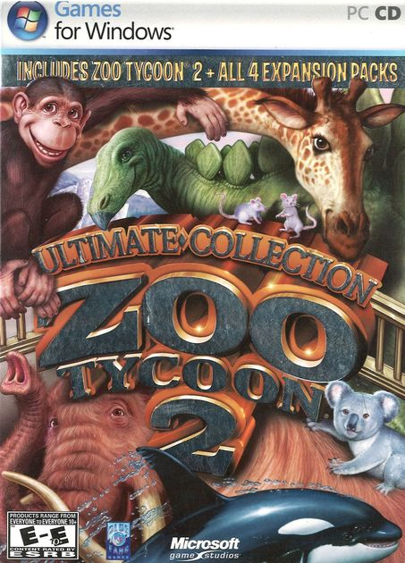 Zoo Tycoon 2: Ultimate Collection   Video Game Compilation