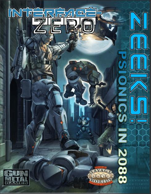 Psionics in 2088 | Zeeks: Psionics in 2088 | RPGGeek