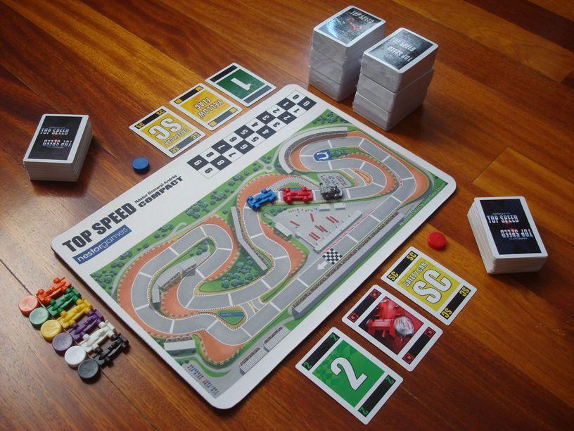 Top Speed | Board Game | BoardGameGeek