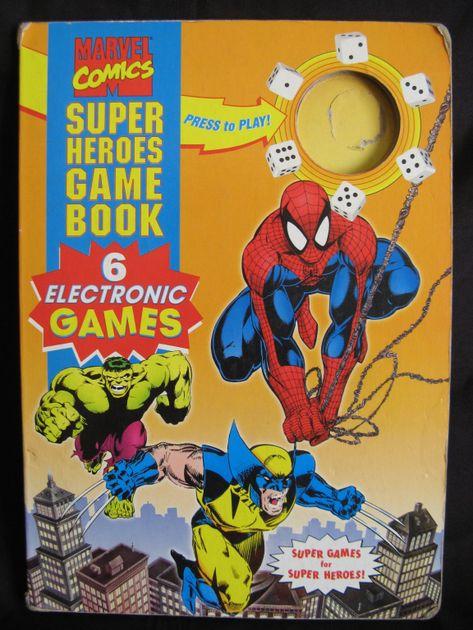 Marvel Comics Super Heroes Game Book   Board Game