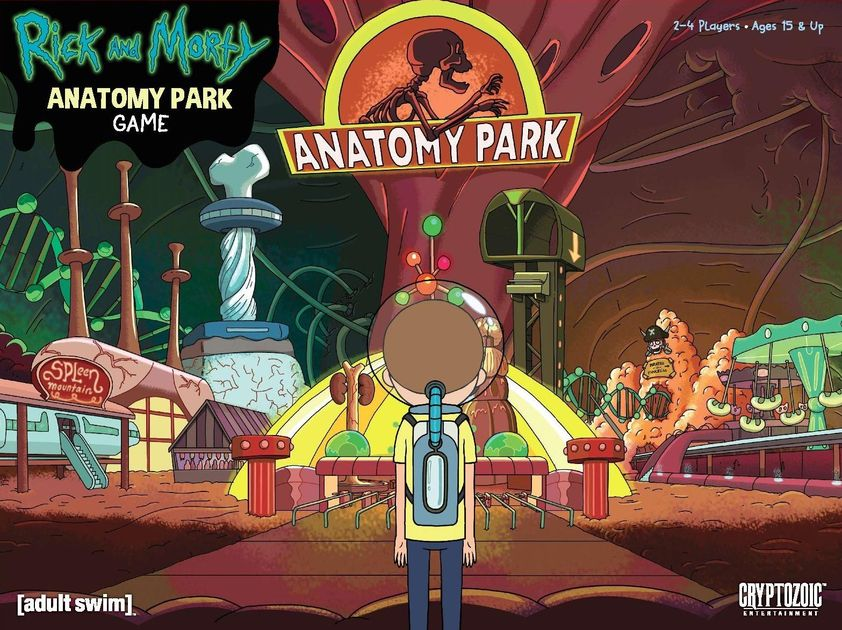 Rick and Morty: Anatomy Park – The Game | Board Game | BoardGameGeek