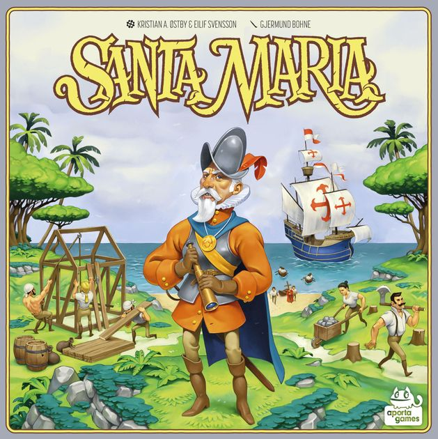 santa maria board game boardgamegeek