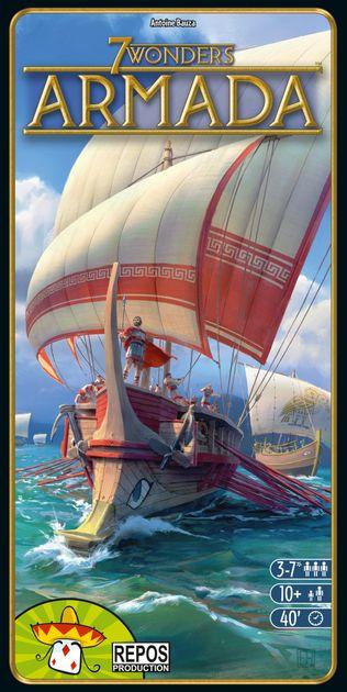 for 7 Wonders Armada Siracusa Wonder Board Expansion