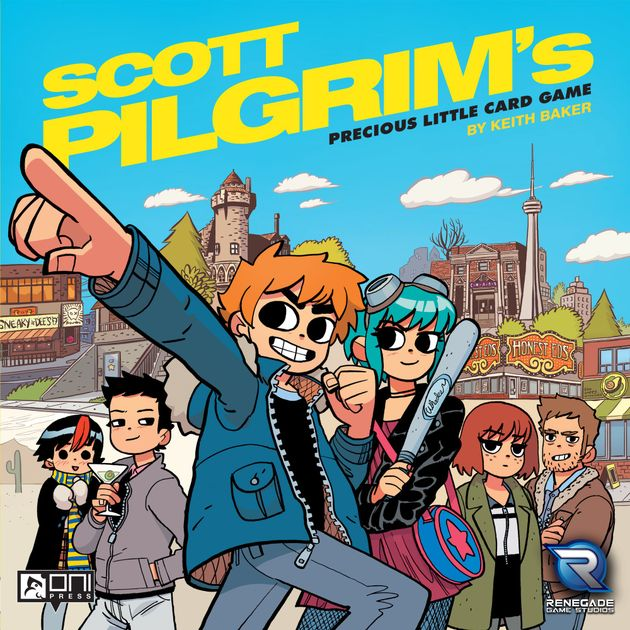Scott Pilgrim S Precious Little Card Game Board Game Boardgamegeek