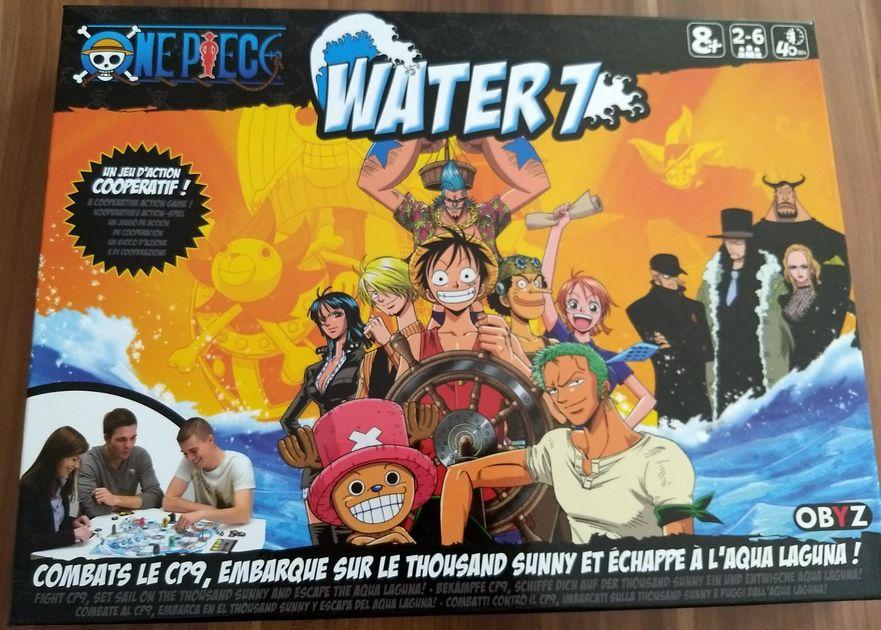 One Piece: Water 7   Board Game   BoardGameGeek