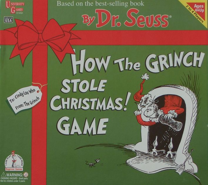 how the grinch stole christmas game board game boardgamegeek - How The Grinch Stole Christmas Games
