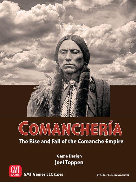 Comancheria The Rise And Fall Of The Comanche Empire Board Game Boardgamegeek