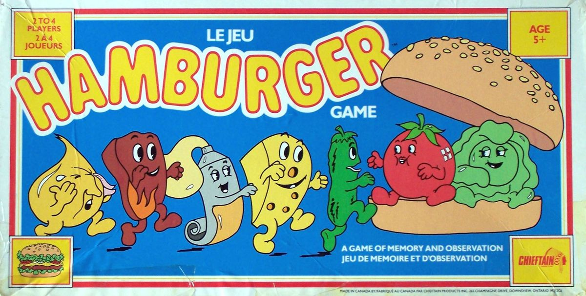 Build a Better Burger | Board Game | BoardGameGeek