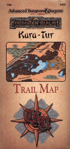 TM5: Kara-Tur Trail Map   RPG Item   RPGGeek