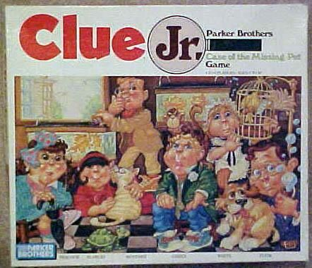 Clue Jr Case Of The Missing Pet Board Game Boardgamegeek
