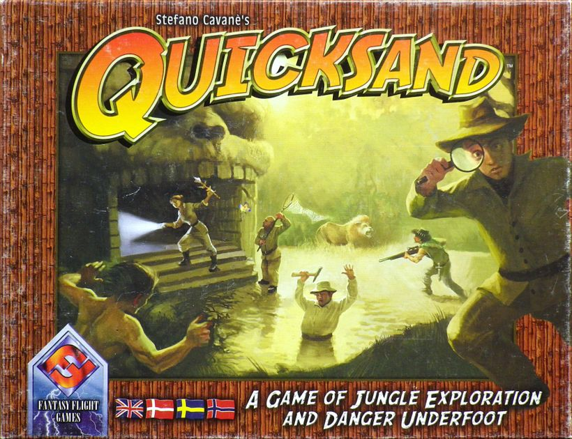 Quicksand | Board Game | BoardGameGeek