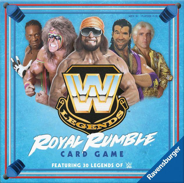 Wwe Legends Royal Rumble Card Game Board Game Boardgamegeek