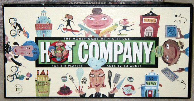 Hot Company | Board Game | BoardGameGeek
